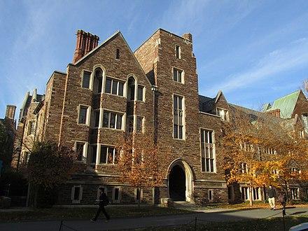 Walker Hall, Part Of Wilson College