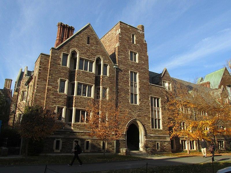Walker Hall, Wilson College, Princeton University, Princeton NJ.jpg