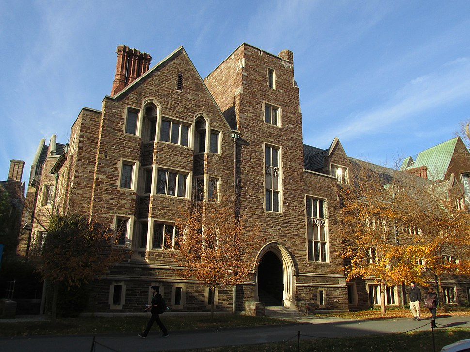 Walker Hall, Wilson College, Princeton University, Princeton NJ