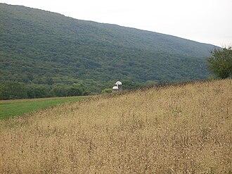 Walker Township, Juniata County, Pennsylvania - Farm and mountain in Walker Township
