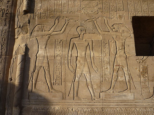 oiseau mythique chez les pharaons
