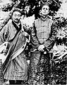 Walter Evans-Wentz and Lama Kazi Dawa Samdup photographed circa 1919.jpg
