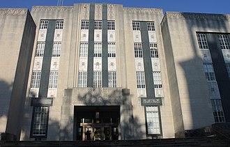Warren County, Mississippi - Image: Warren County Courthouse, Vicksburg, MS IMG 7027