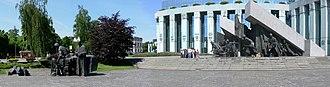 Warsaw Uprising Monument - Image: Warsaw Uprising Monument