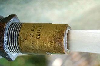 Nozzle - A water nozzle
