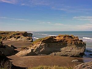 Waverley, Taranaki - Waverley Beach
