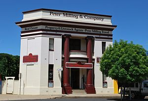 A former bank building in Wellington, New Sout...