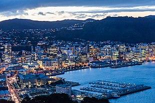 """<a href=""""http://search.lycos.com/web/?_z=0&q=%22Wellington%20Harbour%22"""">Wellington Harbour</a> and city viewed from <a href=""""http://search.lycos.com/web/?_z=0&q=%22Mount%20Victoria%2C%20Wellington%22"""">Mount Victoria</a> at twilight"""