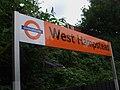 West Hampstead (Overground) stn signage.JPG