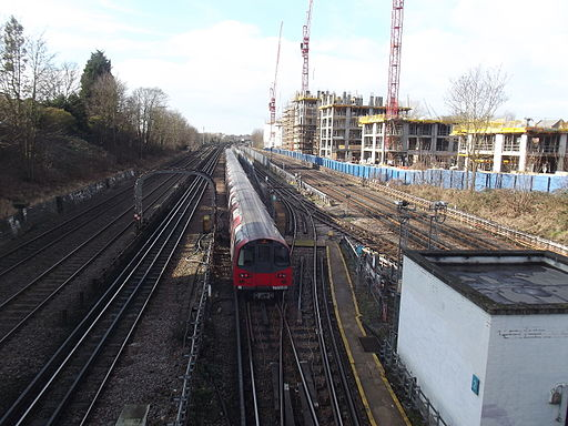 West Hampstead Metropolitan 2015 Jubilee line trains II