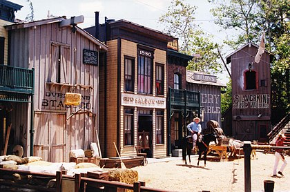 Western set at Universal Studios in Hollywood Western Set Universal Studio.jpg