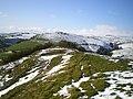 Westwards along the ridge of Craig Ysgwennant - geograph.org.uk - 1028598.jpg
