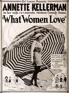 <i>What Women Love</i> 1920 film by Nate Watt