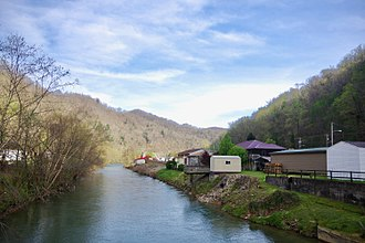 Coal River (West Virginia) - The Big Coal River at Whitesville