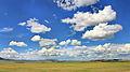 Widoki mongolskiego krajobrazu widziane z minibusa Karakorum - Ułan Bator (24).jpg
