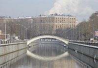 Рубцов мост зимой