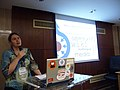 Wikimania 2008 Alexandria - Brianna - State of Commons - 9.jpg