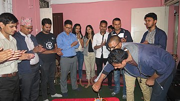 Wikimedians of Nepal 17th Birthday Celebration (01).jpg