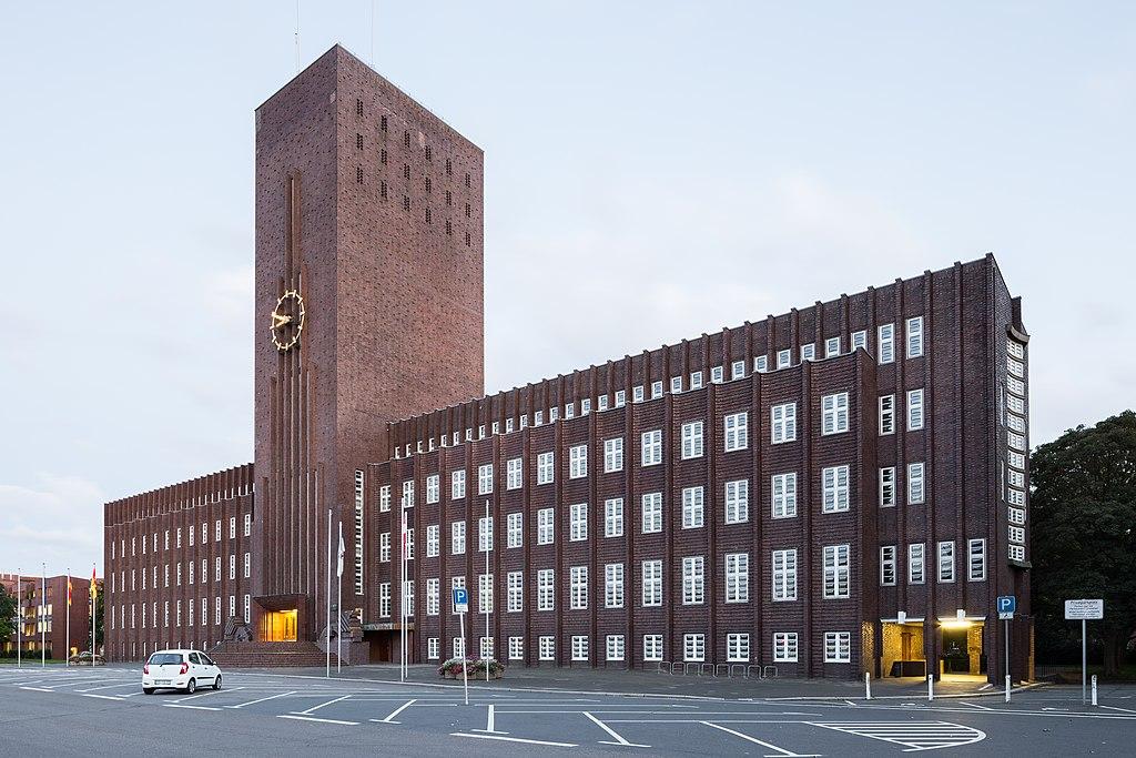 Architecture expressioniste en Allemagne à Niedersachsen - Photo de Christian A. Schröder (ChristianSchd)