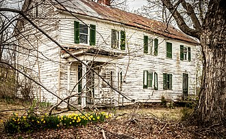 National Register of Historic Places listings in Frederick County, Virginia - Image: Willa Cather Birthplace 0204