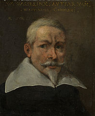 Portrait of Willem Usselinx, Merchant and Founder of the Dutch West Indies Company