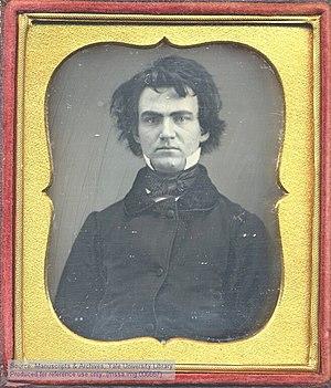 William Austin Dickinson - Daguerreotype portrait of William Austin Dickinson, early 1850s
