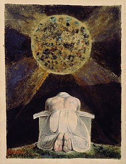 William Blake - Sconfitta - Frontispiece to The Song of Los