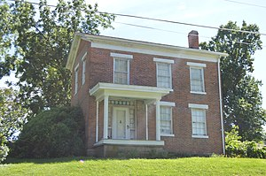 National Register of Historic Places listings in Lewis County, Missouri - Image: William Gray House