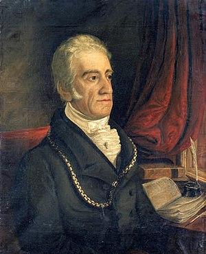 William Jenkins Rees - William Jenkins Rees, 1826 portrait by Hugh Hughes