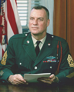 William O. Wooldridge United States Army soldier and the first Sergeant Major of the Army