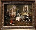 William hogarth, marriage a-la-mode, 1743 ca., 02 il tete-à-tete 1.jpg