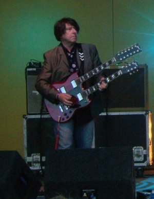 Will Sergeant - Performing in 2007 at the Summer Sundae festival.