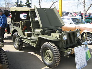 Willys M38 - M38 with hood and top up