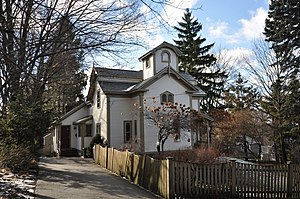 James H. Mann House - Image: Winchester MA Mann House