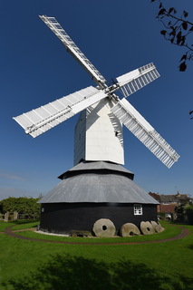 Windmill Hill Mill, Herstmonceux Post mill in Herstmonceux, Sussex, England.