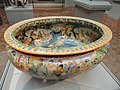 Wine Cistern, 1553, by Francesco Durantino, maiolica - Art Institute of Chicago - DSC09687.JPG
