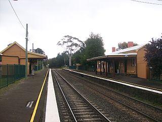 Wingello railway station