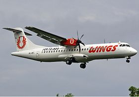 ATR 72-500 de Wings Air