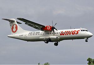 Wings Air - A Wings Air ATR 72–500