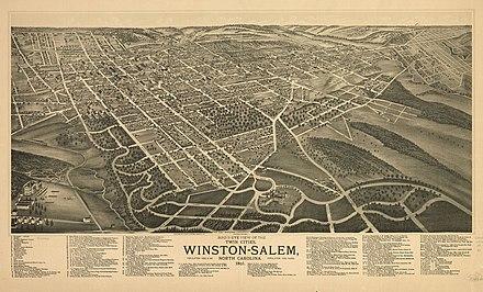 Winston-Salem, North Carolina - Wikiwand