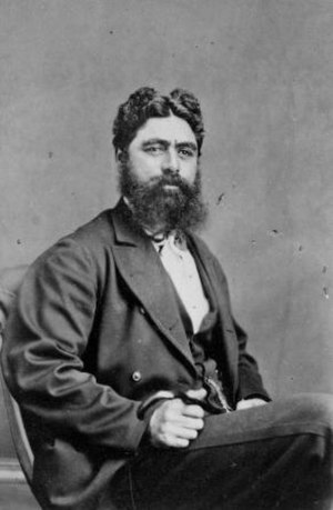 Wiremu Parata - Wiremu Parata circa 1876