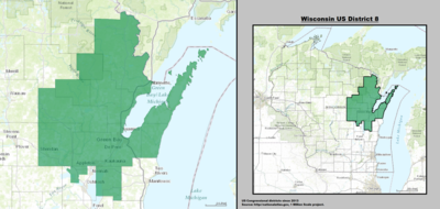 Wisconsin's 8th congressional district - since January 3, 2013.