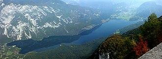 Lake Bohinj - Image: Wocheiner See