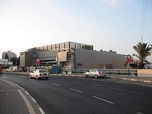 Holon-Wolfson railway station - Image: Wohlfsohn 002