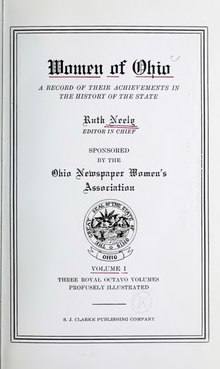 Women of Ohio; a record of their achievements in the history of the state (Vol. I).djvu
