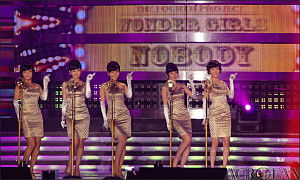 JYP Entertainment - Wonder Girls in 2008