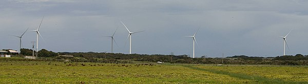 Wonthaggi Wind Farm on Victoria's south-east coast.
