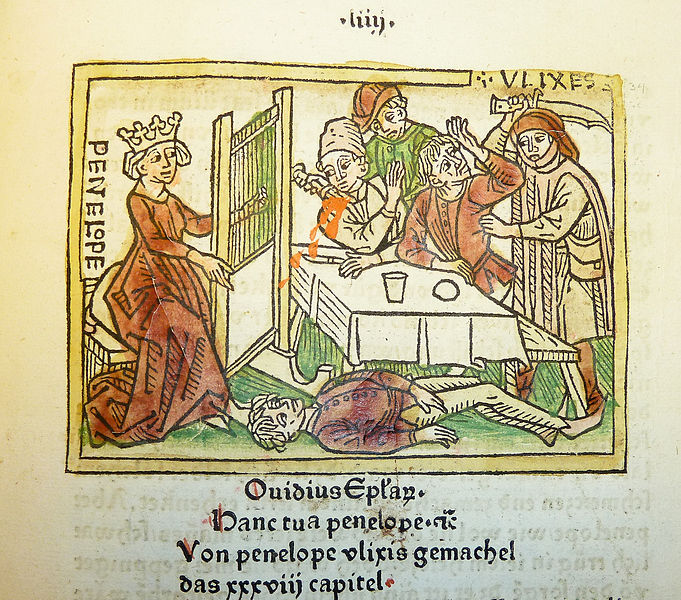 Powrót Odyseusza Giovanni Boccaccio, De mulieribus claris ok 1474