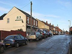 Woodford Halse - Station Road in November 2009.jpg
