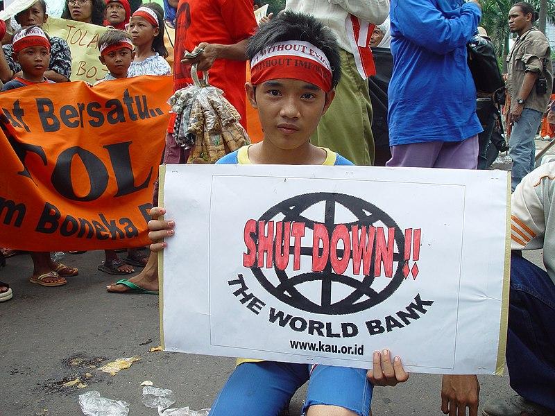File:Worldbank protest jakarta.jpg
